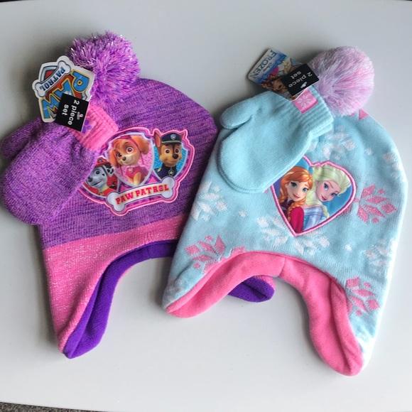 688affa5faea6d disney / Nickelodeon Accessories | Toddler Girls 25 Frozen Paw ...